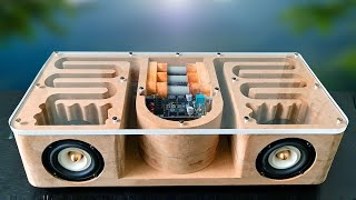 DIY Wooden MDF Subw๐ofer Bluetooth Speaker