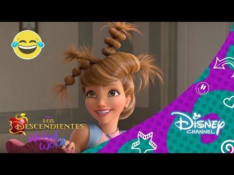 Disney Channel España | Los Descendientes: Wicked World - ¿Nuevo peinado de Audrey?