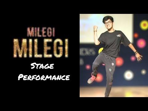 Milegi Milegi Stage Dance Performance | STREE | Mika Singh | Sachin - Jigar
