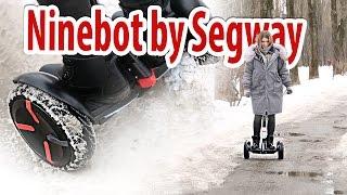 Гироскутер Ninebot Minipro By Segway. Обзор И Тестовый Заезд По Снегу И Лужам.