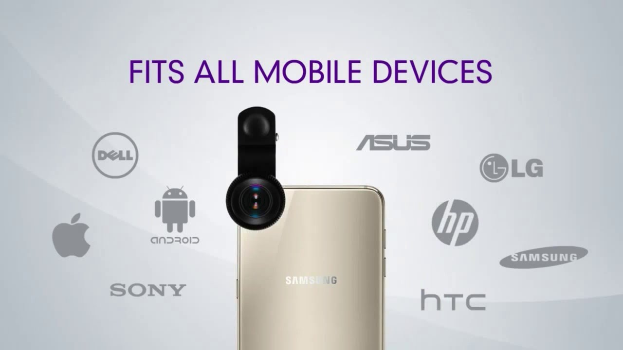 HDfx 360 Cellphone Lenses for Iphone, Android, Ipad and other Smartphones  and Mobile Devices