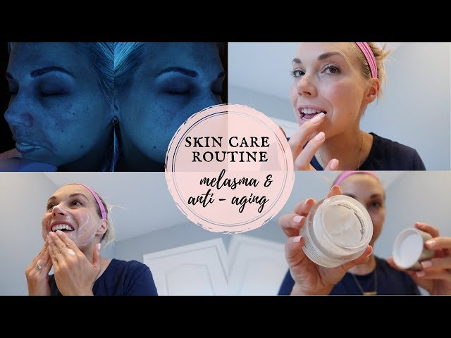 MY NEW SKINCARE ROUTINE | MELASMA & ANTI-AGING | DAY & NIGHT + PRODUCTS