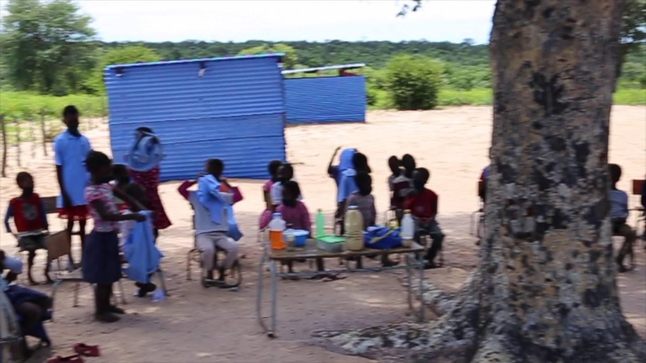 Delivery of school uniforms and stationery in Kavango West