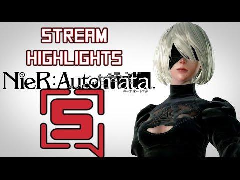 NieR Automata - Livestream Highlights