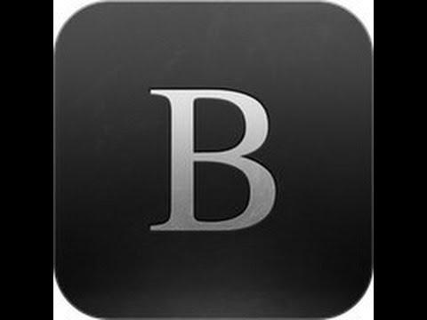 Test de byword sur iphone 5