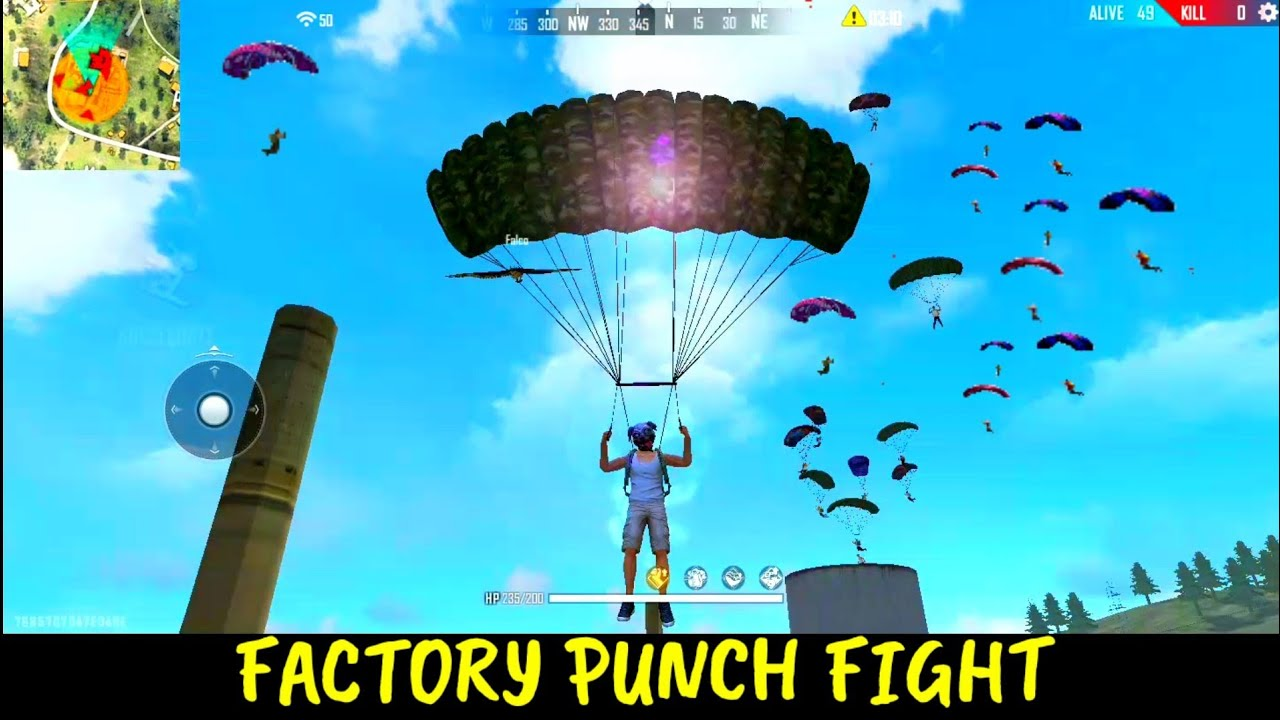 free fire Factory game | factory to pochinok booyah with awm | ff fist fight | ajjubhai,total gaming