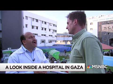 A look inside a hospital in Gaza