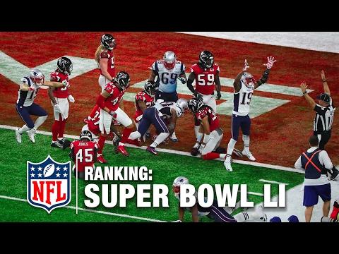 Where Does Super Bowl LI Rank All Time?   NFL Network   DDFP