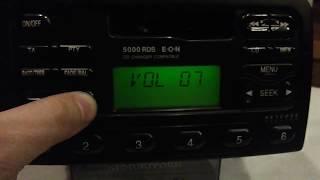 видео Получить код для магнитолы Форд