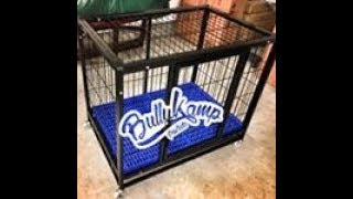 BullyKamp Products Dog Crate:  AGBtv Review