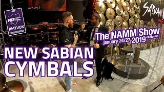 All new Sabian at NAMM 2019 - The New AAX Cymbals & Rebrand
