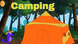 Pyaar Mohabbat Happy Lucky - Episode 10 | Camping | Animated Series