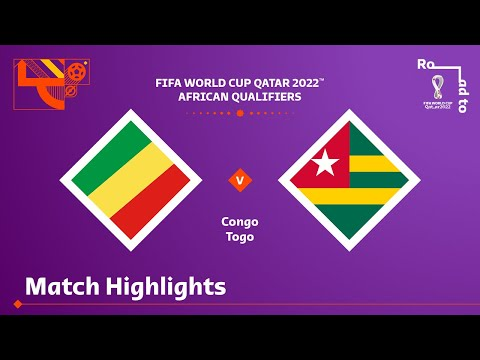 Congo Togo Goals And Highlights