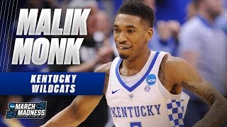 March Madness Highlights: Kentucky's Malik Monk