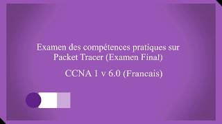 CCNA1 Examen Final Packet Tracer