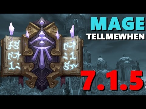 Mage TMW Profile for Patch 7.1.5 w/Download