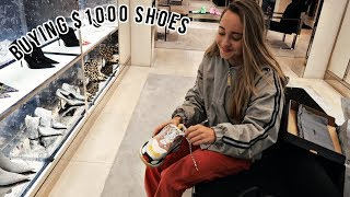 going on a $1,000 shopping spree