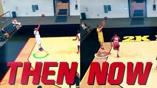 NBA 2K17 AT LAUNCH vs. NBA 2K17 NOW