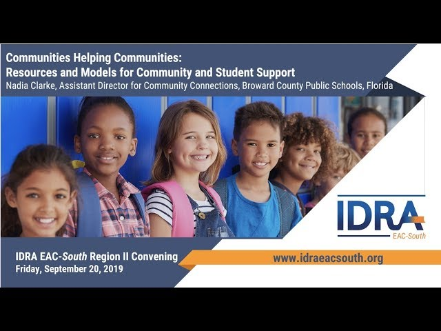 Nadia Clarke, Assistant Director for Community Connections, Broward County Public Schools, Florida