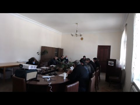 Տաշիր համայնքի ավագանու 26.02.2021թ հերթական նիստ