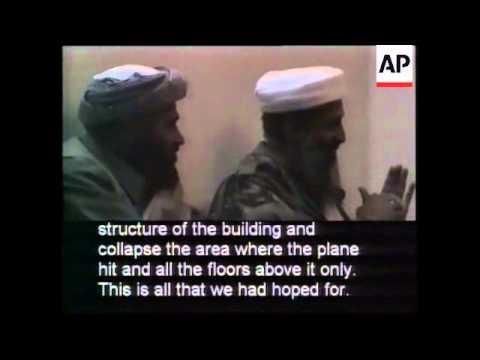 Pentagon-Released Video of Osama bin Laden Talking About Terrorist Attacks B