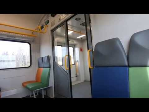 ЭП2Д-0052, маршрут: Шаховская - Москва / Train EP2D-0052, Route: Shakhovskaya - Moscow