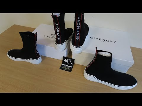 Real vs Fake Givenchy George V Sneakers