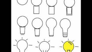 draw step drawing lightbulb idea tutorial