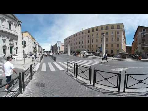 Samsung Gear 360 - European Tour - Day 05 - Walking Around Vatican City pt.4