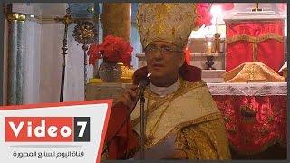 بطريرك الأرمن الكاثوليك فى قداس عيد الميلاد :