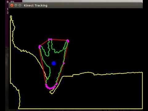 Kinect Hand Tracking with Python Ubuntu 16 04
