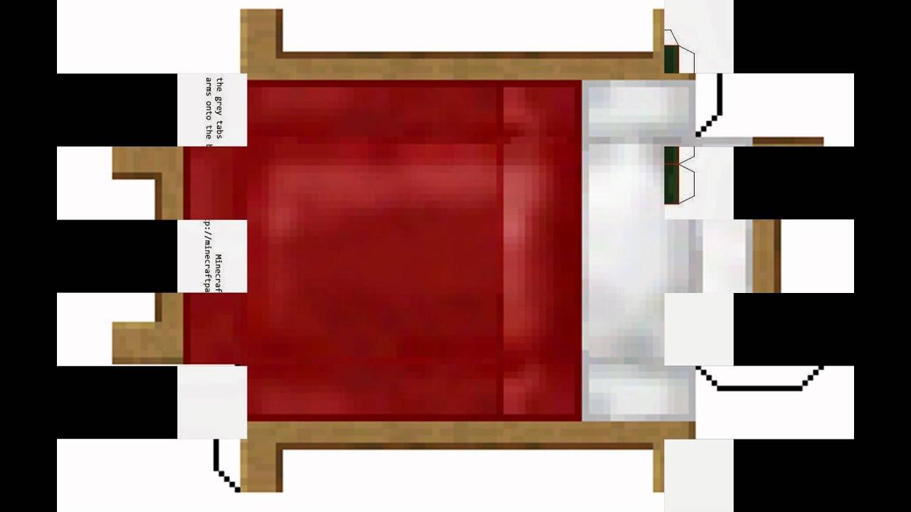 Algumas imagens dos brinquedos de papel do minecraft 1 - Papel de vinilo para cocinas ...