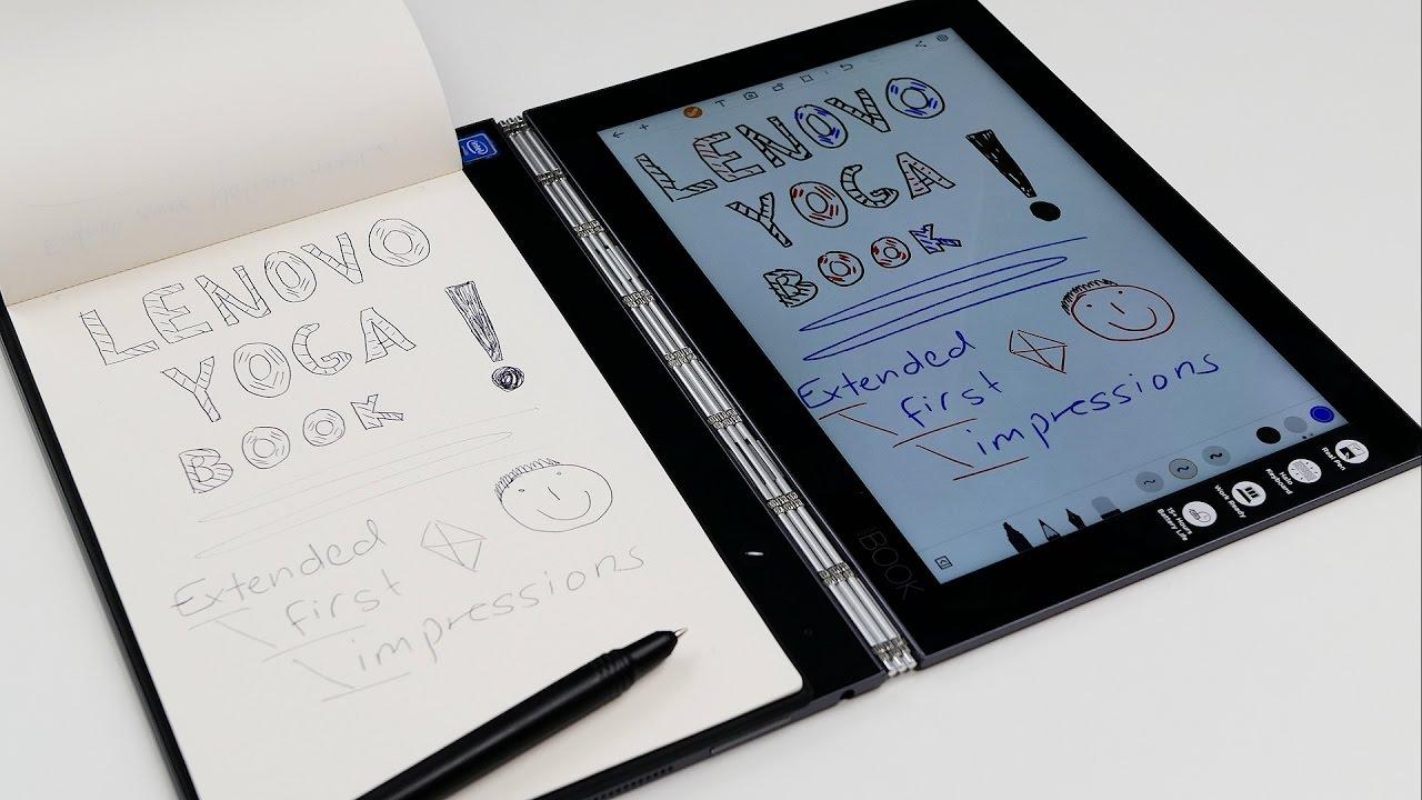 para yoga book report Puedes comprar tu yoga book aquí: el portatil para artistas | lenovo yoga book - duration: lenovo yoga 510 & 710.