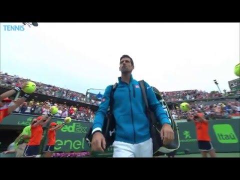 2016 Miami Open: Novak Djokovic v Kei Nishikori Final Highlights