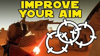 Star Wars Battlefront : How To AIM BETTER! - Improve Your Aim FAST (Get More Kills Tips/Tricks)