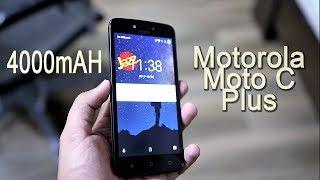 Motorola Moto C plus |  Large Battery!!