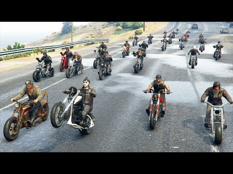 MOTARDS vs BASE MILITAIRE