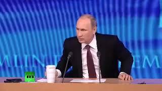 Путин про зарплату. Мне ее приносят, а я ее складываю даже не считаю.
