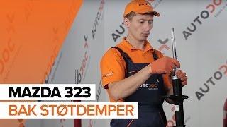 Montering Støtdemper foran MAZDA 323 F VI (BJ): gratis video