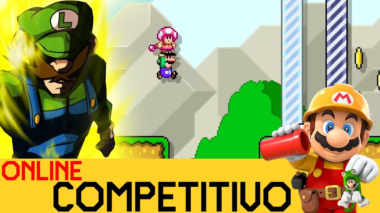 ¿¿AQUÍ TAMBIÉN HAY HÉROES?? - COMPETITIVO ONLINE #34 | Mario Maker 2 - ZetaSSJ