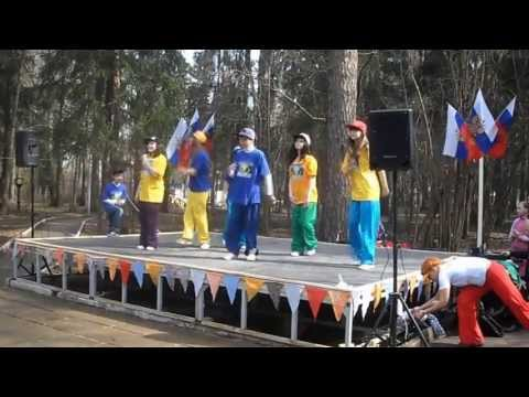 Free dance 2013.04.27 - Старый парк, Зарядка со звездой, Микс Школа современных танцев в Обнинске