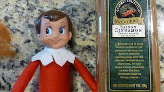 Elf On The Shelf How to Get your elf back there powers with Cinnamon