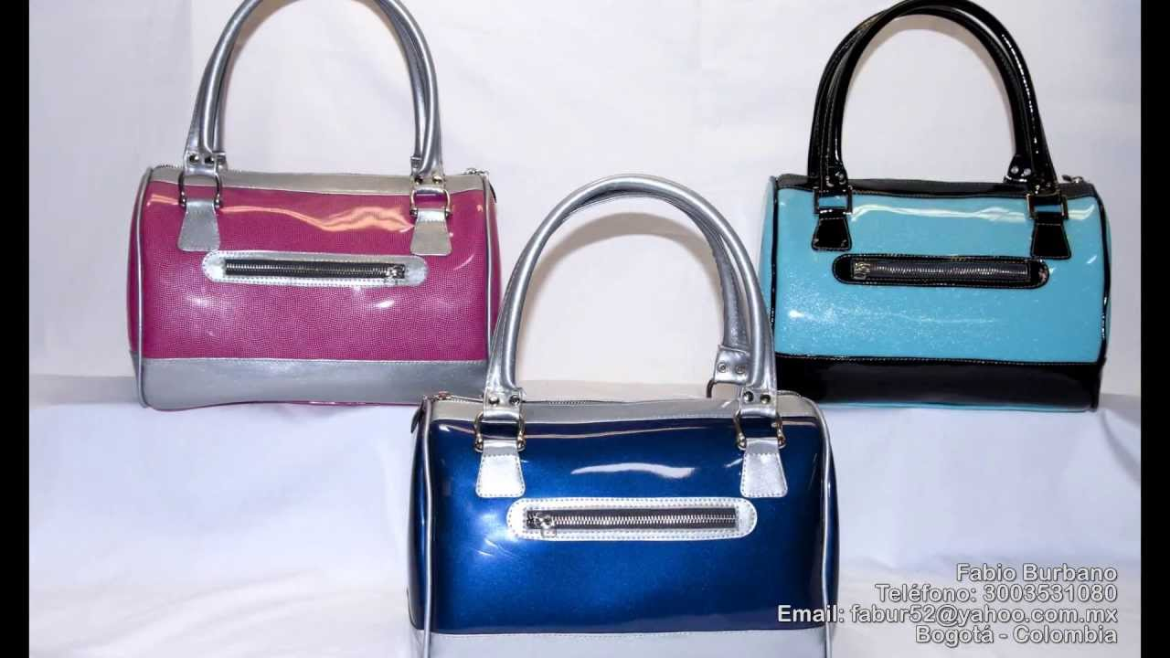 patrones de bolsos de cuero