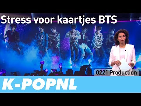 [MEDIA] Stress for BTS Concert Tickets (NOS Jeugdjournaal) — K-POPNL