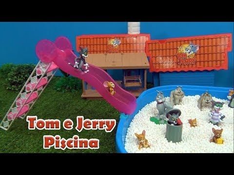 Tom e Jerry na Piscina - TOM AND JERRY IN THE POOL