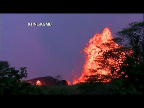 Hawaiian Volcano Erupts with Lava | Kilauea LIVE