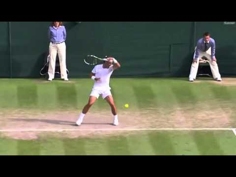 Nick Kyrgios tweener vs Rafael Nadal (Wimbledon 2014)