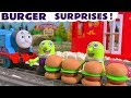 Funny Funlings McDonald's Drive Thru Burger Surprises - A Fun story for kids