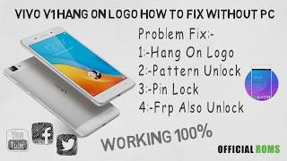 Vivo Y11 Hang On Logo