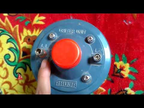 AHUJA driver unit AU-60 ,AU-40, review in hindi